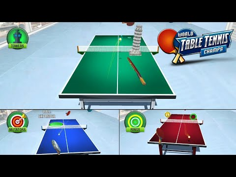 video review of World Table Tennis Champs