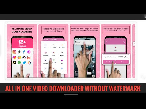 All video downloader without waterMark HD quality ads free pro application