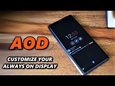 Customizable Always On Display - Best Android app for AOD