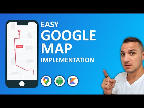 How to implement Google Maps in your Android App.