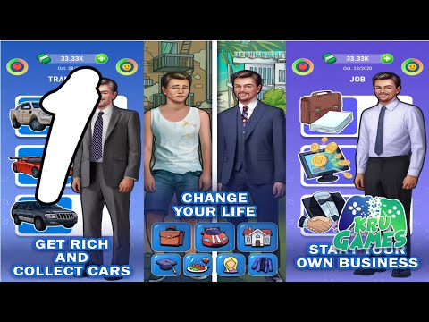 From Fool To Cool - Real Life Simulator: Get Rich Gameplay Walkthrough #1 (Android, IOS)