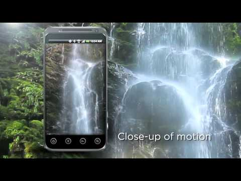 Beautiful Waterfall Live Wallpaper App for Android