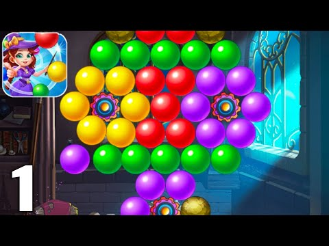Bubble Tower Legend - Bubble Shooter Magic Pop - Gameplay Walkthrough Part 1 (Android & iOS)