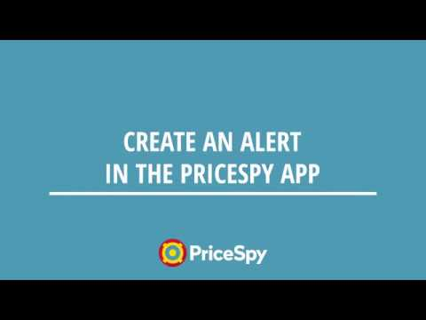 Create an alert in the PriceSpy app