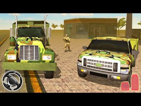 Army Truck Simulator 2017 - City Trucks Parking Game | Android Gameplay