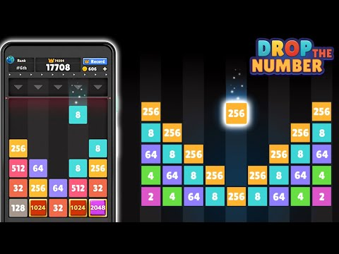 Drop the Number - Merge Game Android Gameplay