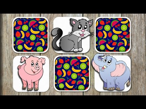 video review of Animals Matching Game For Kids