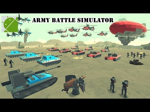 Army Battle Simulator - Android Gameplay HD