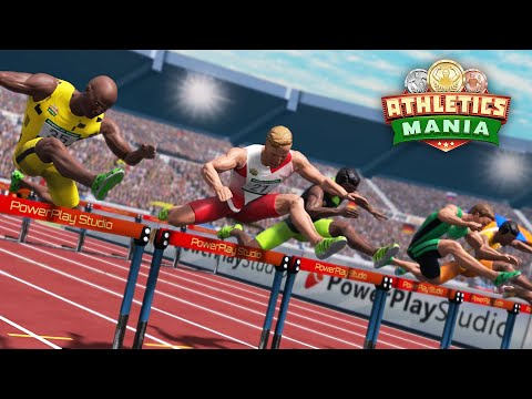Athletics Mania: Track & Field Android/iOS Gameplay. Summer Sports Game