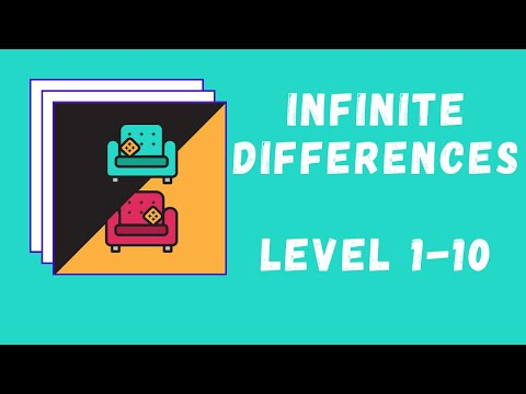 Infinite Differences Answers Level 1-10