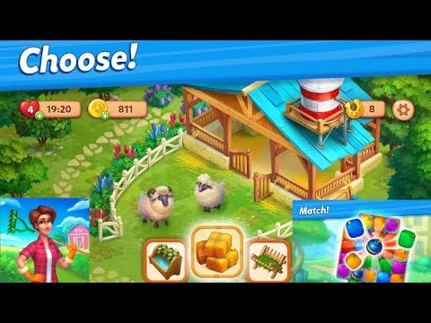 Farmscapes | All Levels 1-10 Gameplay Walkthrough [ Android | iOS ] #1