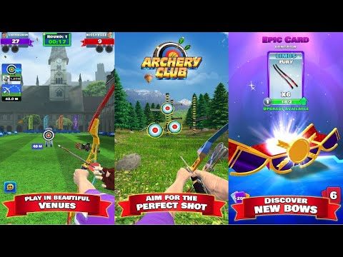 Archery Club: PvP Multiplayer Android Gameplay