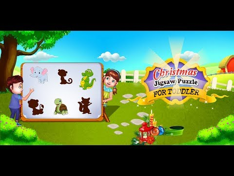 Christmas Jigsaw Puzzle for Toddler - Jigsaw Puzzle Mania GamePlay Video By GameiMake