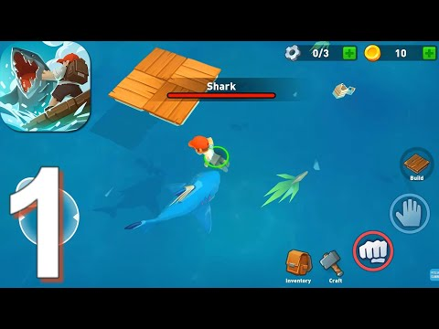 Epic Raft: Fighting Zombie Shark Survival - Gameplay Walkthrough Part 1 (Android,iOS)