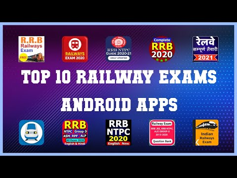 Top 10 railway exams Android App | Review