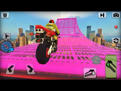 Bike Impossible Tracks Race 3D Motorcycle Stunts - Android Gameplay