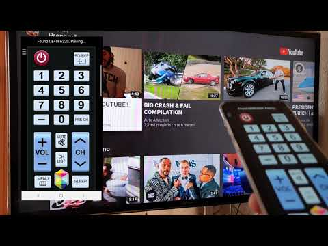 How to use your Smartphone as a Samsung TV remote control