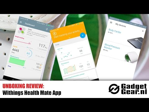Review: Withings Health Mate App