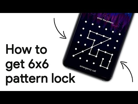 How To Get More Pattern Dots in Android