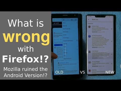 Whats wrong with Firefox for Android?