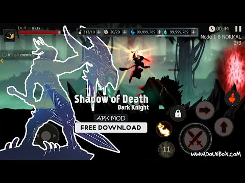 Shadow of Death Dark Knight Mod Apk unlimited money for Android free Download 2020
