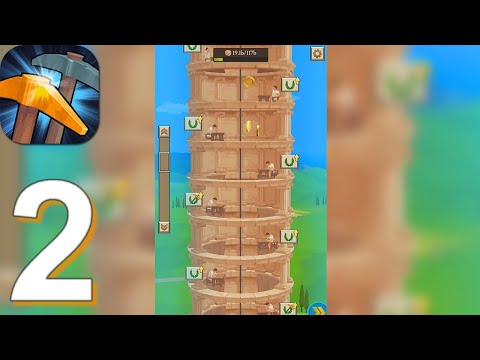 Idle Tower Miner - Gameplay Walkthrough Part 2 (Android, iOS)