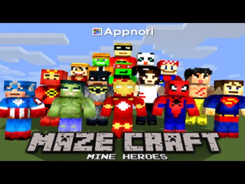 Maze Craft : Pixel Heroes _ Google Play Mobile Game