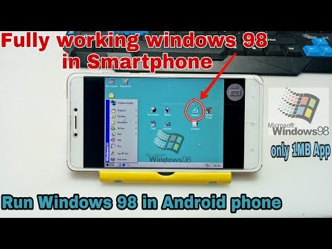 How to run Windows 98 in Android phone   Windows 98 simulator Apk   Windows in Android