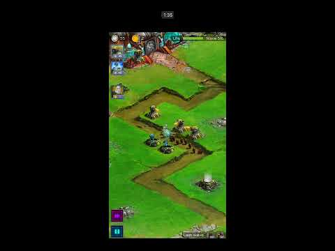 Ancient Planet Tower Defense Offline (2014) - Mobile Gameplay