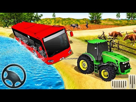 Tractor Pull & Farming Duty Game 2019 - Android Games