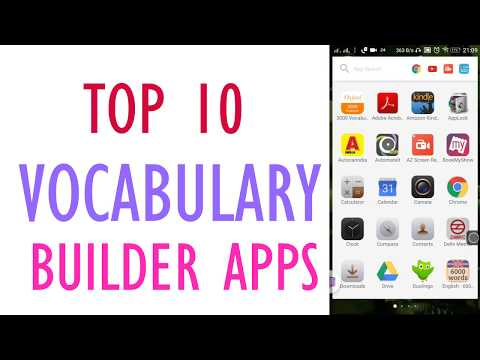 Top 10 Best Vocabulary Builder Apps (2020)To Quickly Improve your vocabulary