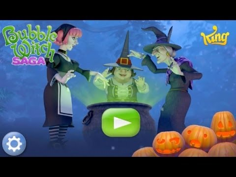 Bubble Witch Saga Bubble Shooter Game Android App Review (Gameplay)