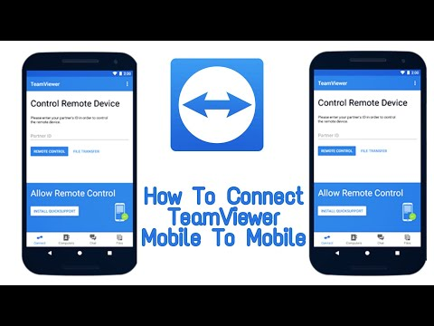 How To Connect Teamviewer Mobile To Mobile 2020 Tested