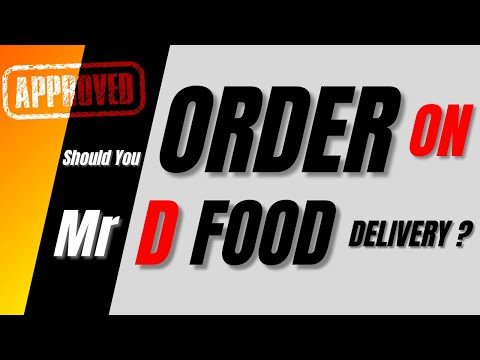 Should You  Order On Mr D Food Delivery ? | Mr D Food Delivery Review