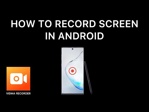 Best Free Screen Recorder Application For Android  - Vidma Recorder