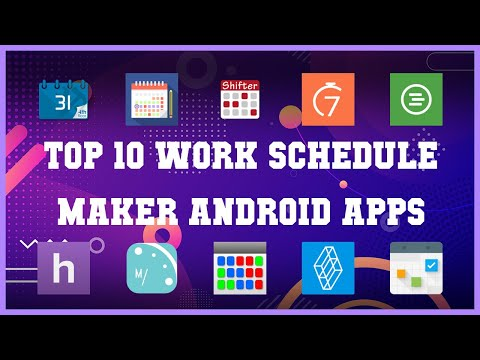 Top 10 Work Schedule Maker Android App | Review