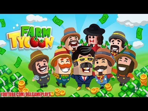 Farm Tycoon : Idle Clicker Gameplay (Android iOS)