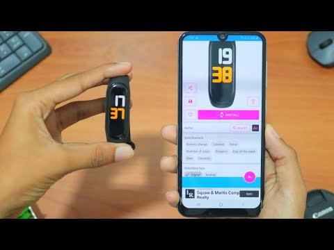 How to Put Custom Watch Face on Mi Band 4 | 2020