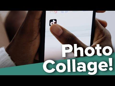 How to Make a Photo Collage for TikTok!