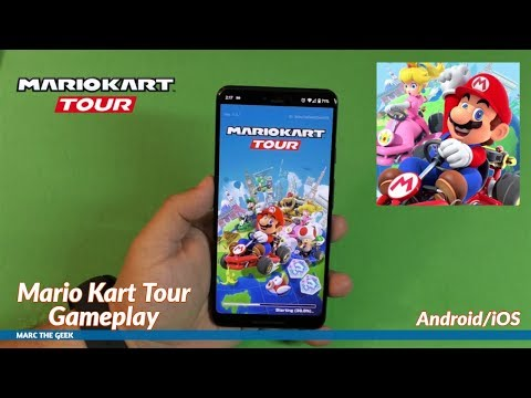 Mario Kart Tour Gameplay (Android/iOS)