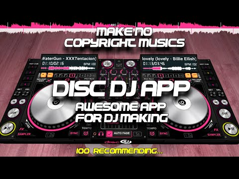 DiscDj 3D Music Player Mixer Studio   how to build dj mix traps in Android   How To Use And Download
