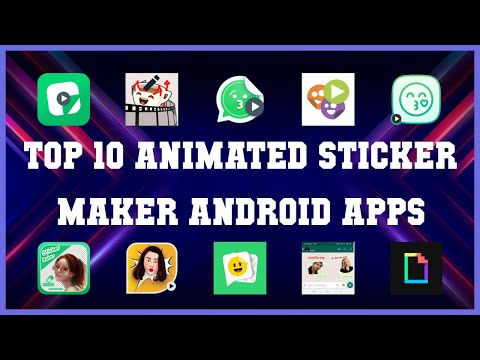 Top 10 Animated Sticker Maker Android App | Review