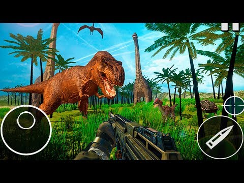 Dinosaur Hunter Wild Dino Hunting Games 2018 (by Apinator) Android Gameplay Trailer