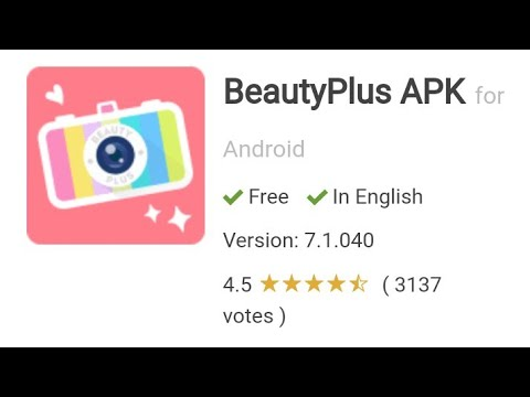 Beauty Plus Camera Download || Sweet Selfie Camera App || Download BeautyPlus APK for Android