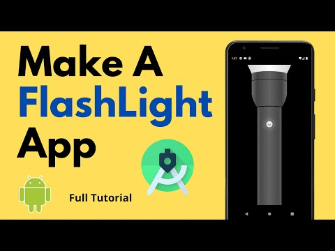 Make a Flashlight App | Android Project | Android Studio