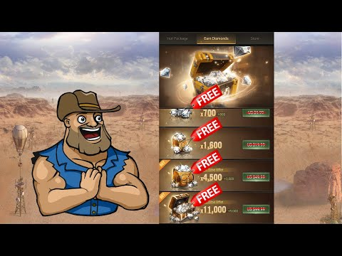 How to Get Free Diamonds In Last Shelter Survival   Unlimited Free Diamonds   For Android and IOS!