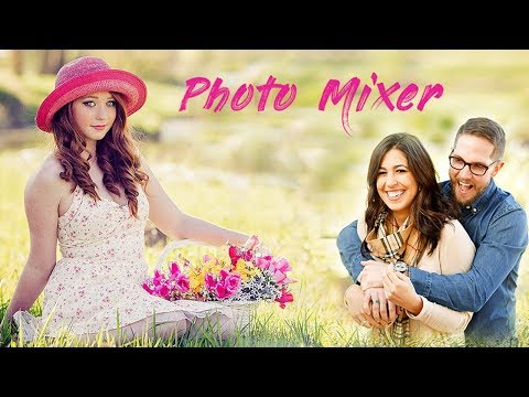 How to Mix, Overlay, Blend Multiple Pictures From Mobile | Photo Blender App | Photo Mixer App
