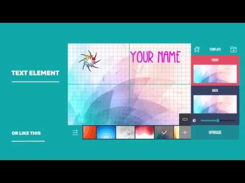 video review of Business Card Maker & Creator