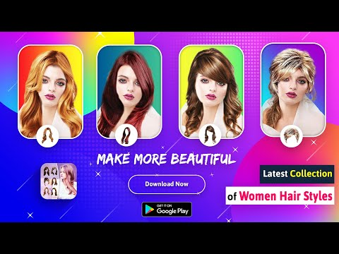 Women Hair Style Photo Editor : Android App
