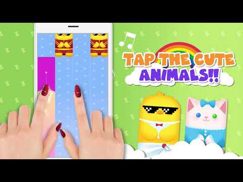 video review of Magic Animal Piano Tiles